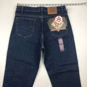 Levi's Jeans - NWT Vintage Levi's 550 Blue Jeans Relaxed Fit